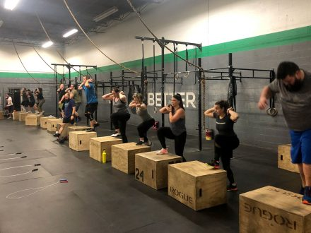 Group classes at CrossFit Saol